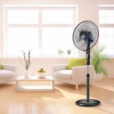 Reservation Desk Com Household Electric Fan Stand Fan Remote Control Mute Student