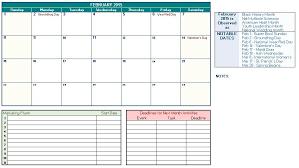 promotional calendar template great printable calendars