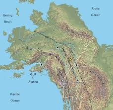 Tanana Alaska Map by The Late Cretaceous Middle Fork Caldera Its Resurgent Intrusion