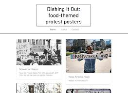 themed posters food themed protest posters as resistance emily contois