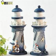 lighthouse home decor 20cm ornamental home decor christmas decor mediterranean style wood