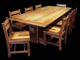 hand made timber barron reclaimed barnwood dining set by misty