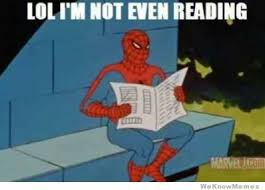 How To Read Meme - is spider man becoming batman gen discussion comic vine