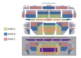 boston opera house boston tickets schedule seating charts