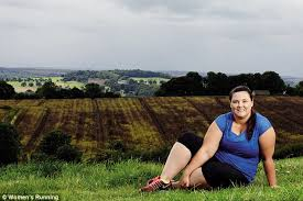 Chubby Girl Running Meme - size 18 jogger who was fat shamed by white van man lands cover of