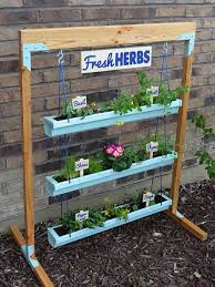 diy vertical herb garden 9 diy vertical gardens for better herbs better homes gardens