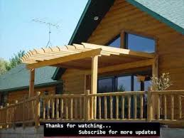 Roofing For Pergola by Pergola Roof Pergola Design Pic Collection Youtube