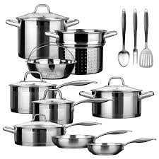 best black friday cookware deals saucepan le creuset 3 ply stainless steel 3 piece saucepan set