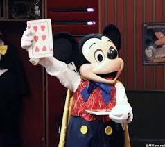 meet master magician mickey mouse magic kingdom