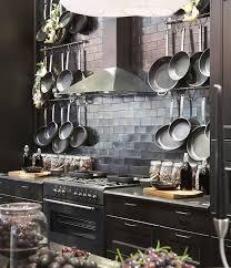 holdem celebrity ikea u0027s glamorous black country kitchen