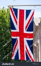 union jack flag flying flag pole stock photo 367261835 shutterstock