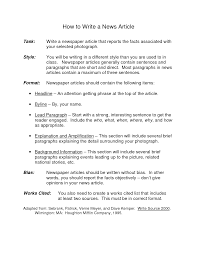 how to write the paper tips to write a newspaper article want to learn how to write a news story