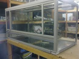 glass door track vivarium doors u0026 reptile vivarium terrarium showcase display