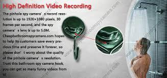 Cheap Bathroom Spy Camera Stainless Steel Hook Hidden Hd Spy Camera Dvr 32gb 1920x1080