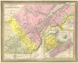 Map Of Quebec Canada by File 1850 Mitchell Map Of Eastern Canada Including Quebec