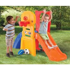 Backyard Playground Slides by Playground Equipment Outdoor Toys For Kids Climb And Slide