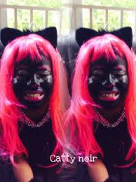 Halloween Monster High Makeup by Monster High Catty Noir Doll Makeup Tutorial Youtube