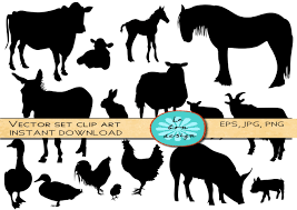 printable animal silhouettes free download clip art free clip