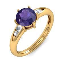 amethyst diamond engagement ring amethyst rings amethyst engagement rings amethyst diamond