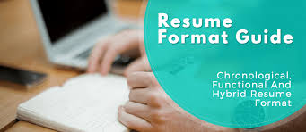 resume experience chronological order or relevance theory resume format guide chronological functional and combo