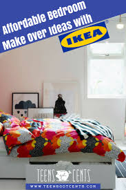 teen bedroom makeover ideas from ikea teensgotcents