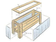 garden design garden design with pallet planter box on pinterest