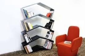 angle mirrored bookcases lean book shelf