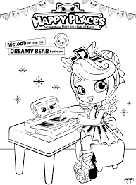 shopkins coloring pages videos shopkins doll melodine colouring page happy places get coloring pages