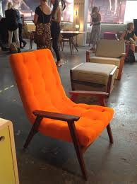 Orange Armchair Trends And Inspiration For Interiors At London Design Festival