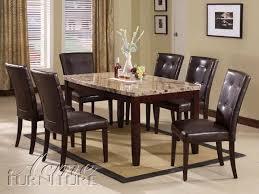 Acme Furniture Dining Room Set Elegant Marble Top Dining Table And Acme Furniture Granada Brown