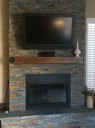 Stone Fireplace Mantel Shelf Designs by Best 25 Rustic Fireplace Mantels Ideas On Pinterest Brick