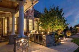 Outdoor Kitchen Lights Permanent Lighting Portfolio Light Up Nashville
