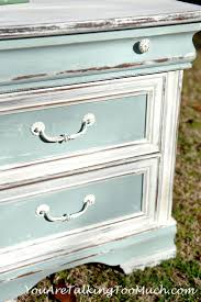 Shabby Chic Furniture Paint Colors by Best 25 Painted Night Stands Ideas On Pinterest Refurbished End