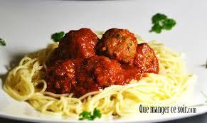 plats rapides à cuisiner boulettes de viande au basilic que manger ce soir