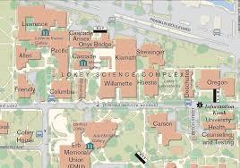 Map Roseburg Oregon by University Of Oregon Map Oregon Map