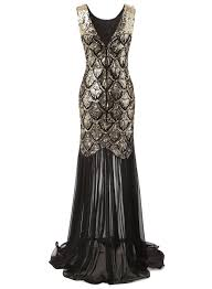 buy vintage 20s style gatsby black long cocktail party evening