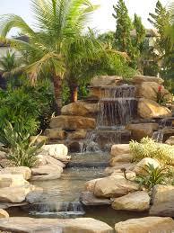 backyard waterfalls gardens inc and waterfall fountain on
