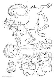 winter animals coloring pages justsingit