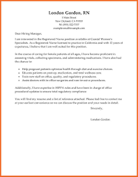 registered nurse cover letters psychiatric nurse cover letter 19
