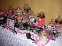 wedding candy table for all things creative my wedding candy buffet