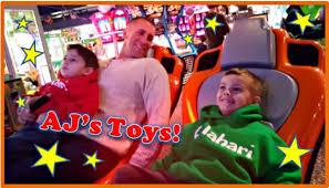 kalahari sandusky u0027s big game room arcade ride youtube