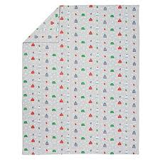 Flannel Duvet Covers Snow Day Flannel Duvet Cover The Land Of Nod