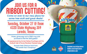 ribbon stores stripes convenience stores announce stripes store 2490 grand