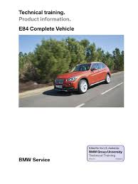 bmw x1 e84 complete vehicle transmission mechanics automatic