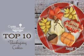 saturday sunday spotlight top 10 thanksgiving cookies