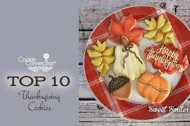 saturday sunday spotlight top 10 thanksgiving cookies