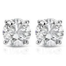 men diamond earrings 14k white gold diamond earrings studs for men ebay