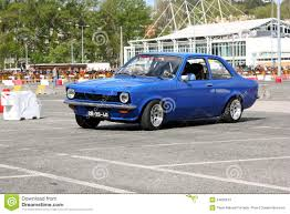 kadett opel opel kadett during leiria city slalom 2012 editorial stock photo