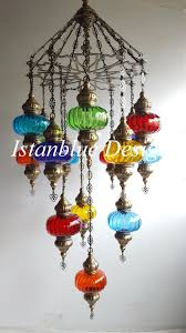 Handmade Chandelier by Mosaic Lamps Handmade Chandeliers Wall Sconces Turkish Blown