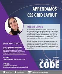 que es layout ingenieria women who code scl on twitter nuevo meetup aprendamos css grid